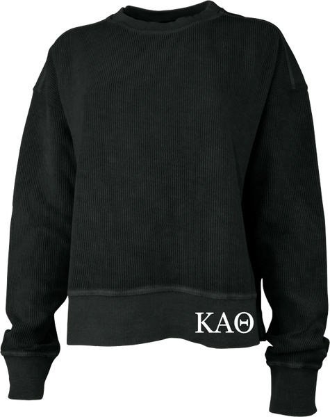 Kappa Alpha Theta Crew Cropped Sweatshirt