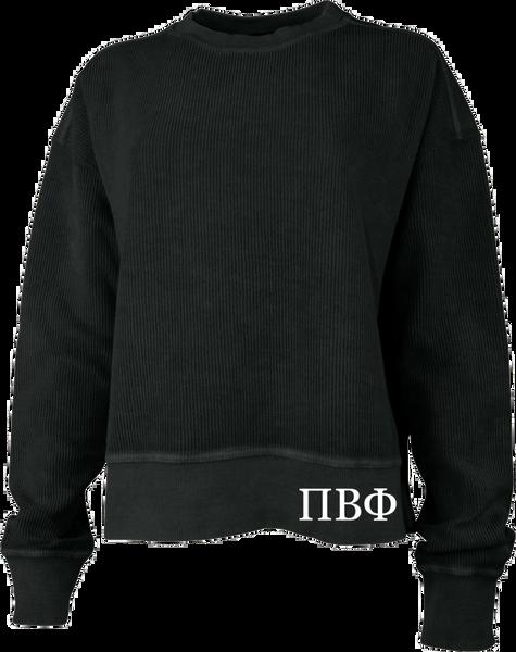 Pi Beta Phi Crew Cropped Sweatshirt