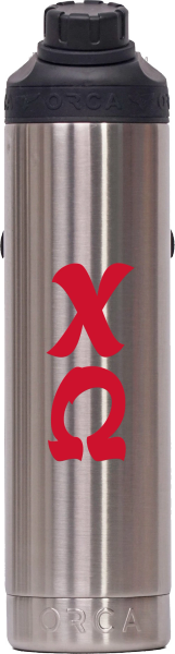 Chi Omega Stainless Steel 22 oz. Water Bottle
