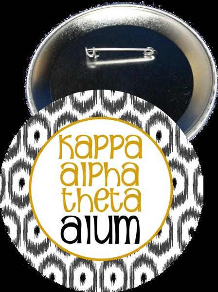 Kappa Alpha Theta Alum Button