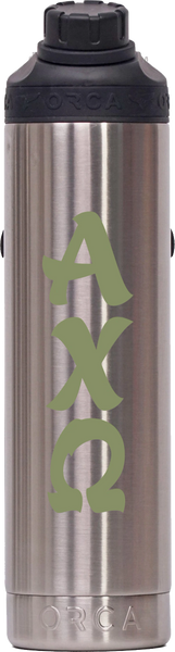 Alpha Chi Omega Stainless Steel 22 oz. Water Bottle