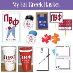 My Fat Greek Basket • Pi Beta Phi