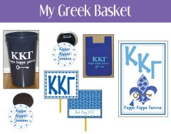My Greek Basket • Kappa Kappa Gamma