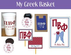 My Greek Basket • Pi Beta Phi
