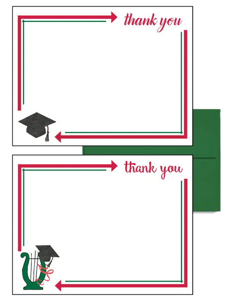 Alpha Chi Omega Graduation Postcards