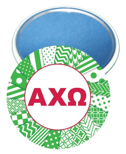 Alpha Chi Omega Letters Mirror