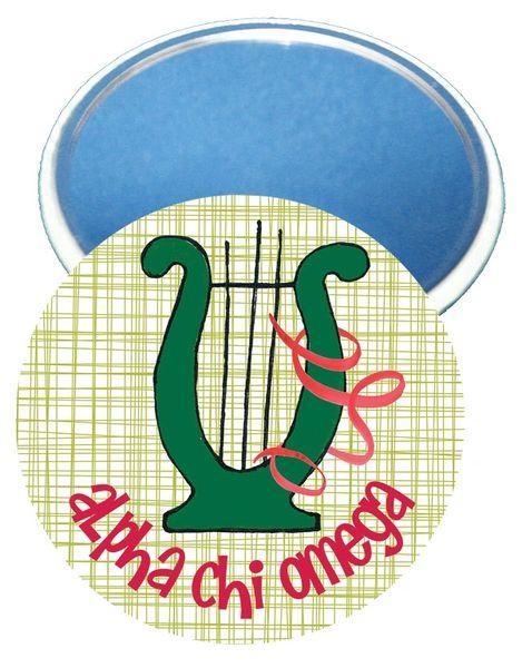 Alpha Chi Omega Logo Mirror