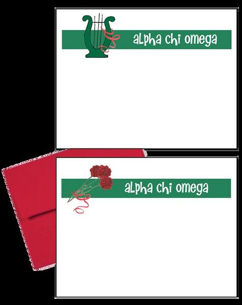 Alpha Chi Omega Logo Postcards