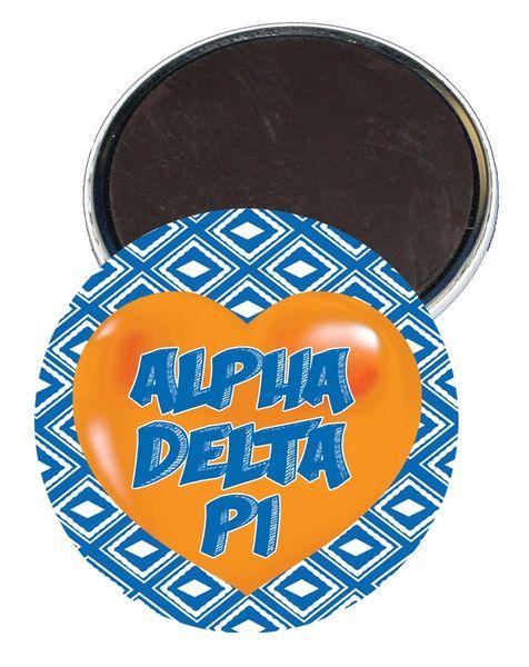 Alpha Delta Pi Heart Magnet