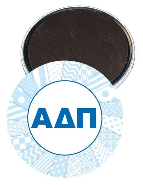 Alpha Delta Pi Letters Magnet