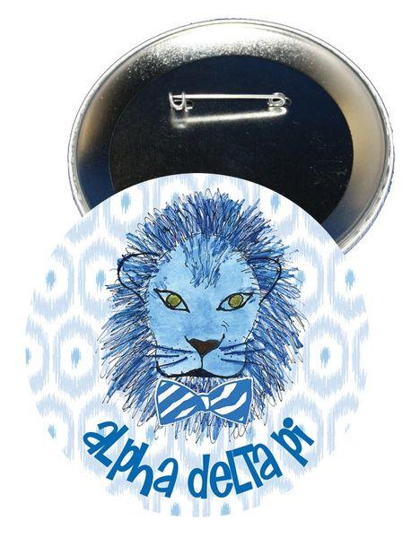 Alpha Delta Pi Logo Button