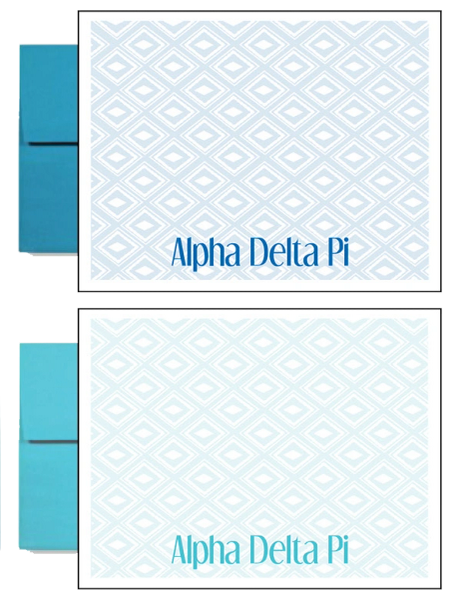 Alpha Delta Pi Sorority Postcards