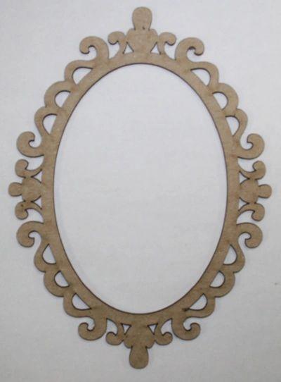 Oval Mirror Frame Southern Ridge Trading Company