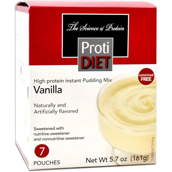 (350875) ProtiDiet Pudding - Vanilla (7/Box) = ALTERNATIVE TO IDEAL PROTEIN --- UNRESTRICTED