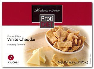 (354460) ProtiDiet Protein Crisps - White Cheddar (7/Box)= ALTERNATIVE TO IDEAL PROTEIN --- RESTRICTED