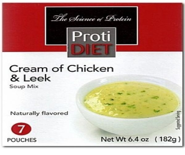 (354088) Protidiet Cream of Chicken and Leek Soup - Unrestricted