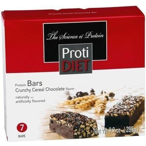 (421223) ProtiDiet Protein Bar - Crunchy Cereal Chocolate (7/Box) = ALTERNATIVE TO IDEAL PROTEIN --- RESTRICTED