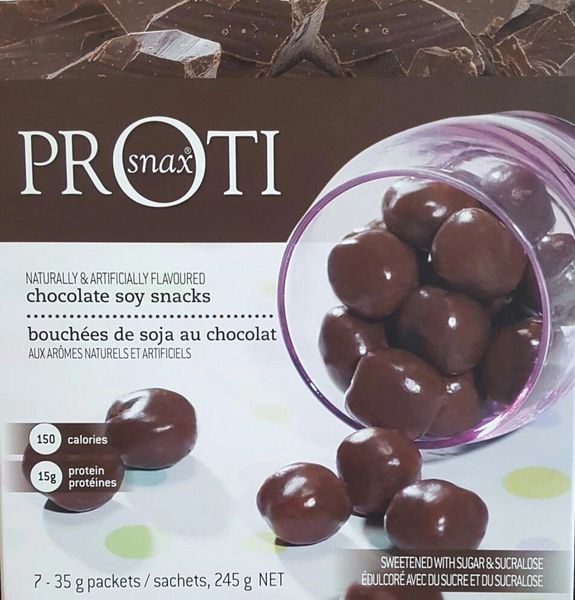 *** GET 2 FOR THE PRICE OF ONE*** (1423V01 Pr0ti Chocolate Soy Snacks - Restricted