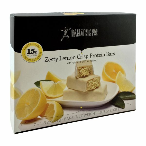 (1274V01) PrOti Zesty Lemon Crisp Protein Bars - Restricted