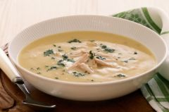 ( 176) Tasty cream of Chicken Soup - - Unrestricted