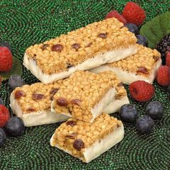 (1282A) Double Berries Bar - - - Gluten Free - - - RESTRICTED - (7 Servings)