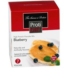 (351001) ProtiDiet Pancakes - Blueberry (7/Box) = ALTERNATIVE TO IDEAL PROTEIN --- UNRESTRICTED