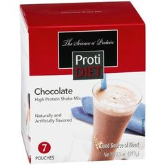 (350912) ProtiDiet Shake - Chocolate (7/Box) = ALTERNATIVE TO IDEAL PROTEIN --- UNRESTRICTED