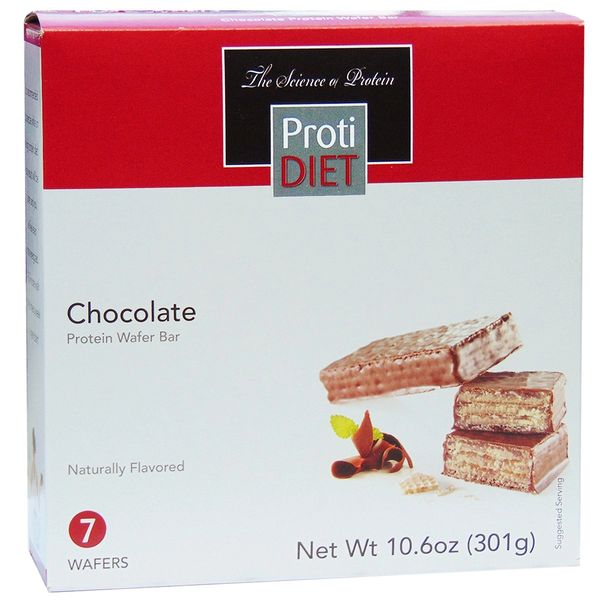 (005089) ProtiDiet Chocolate Protein Wafer Bar - Ideal Protein Compatible - RESTRICTED