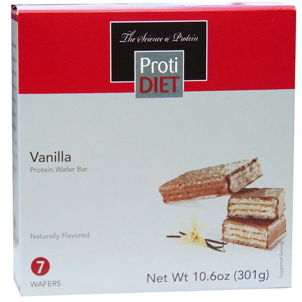 Vanilla Protein Wafer Bar - Ideal Protein Compatible - Restricted(005928)- ProtiDiet