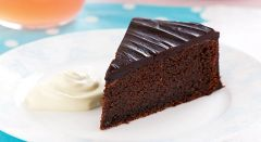 (1020C) Chocolate Cake - - Unrestricted - (7 Servings)