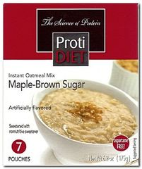 (350592) ProtiDiet Oatmeal - Maple Brown Sugar (7/Box) = ALTERNATIVE TO IDEAL PROTEIN --- UNRESTRICTED