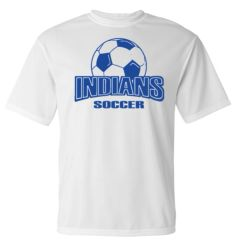 Indians Soccer Wicking Shirt