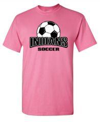 Indians Soccer T-Shirt
