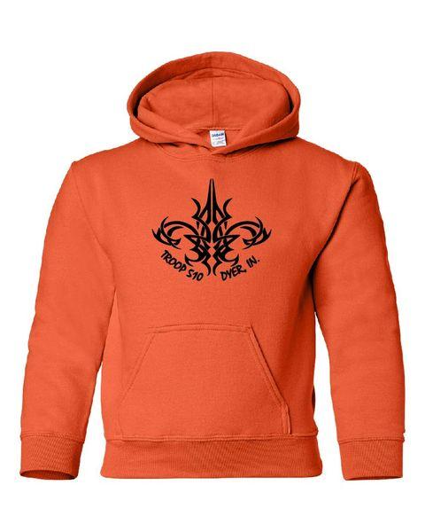 Troop 510 Youth Ecosmart Hooded Sweatshirt