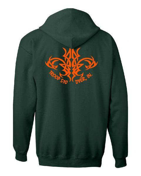 Troop 510 Full-Zip Hooded Sweatshirt