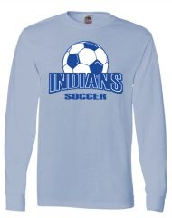 Indians Soccer Long Sleeve