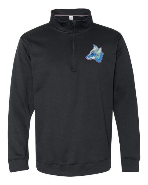 Clark Coyotes Quarter-Zip Pullover Embroidered Sweatshirt