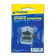 Champro Sports Push Button Sports Counter