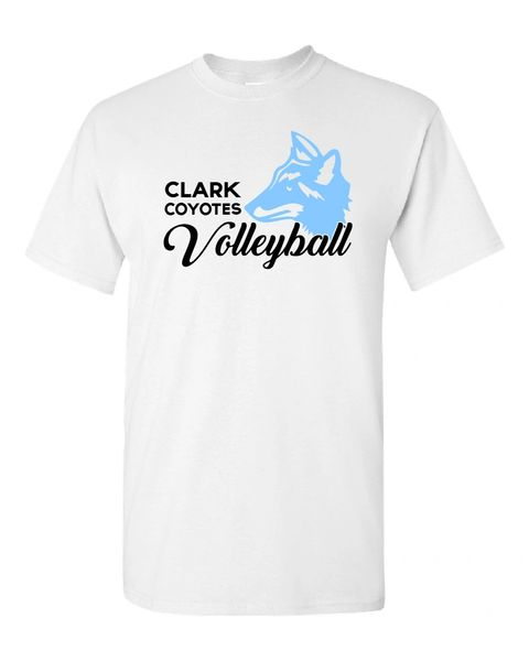 Clark Volleyball Cotton T-Shirt 2