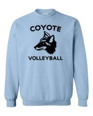 Clark Volleyball Crewneck Sweatshirt