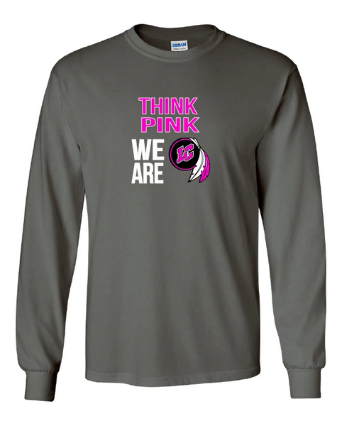 Lake Central Breast Cancer Awareness Long Sleeve