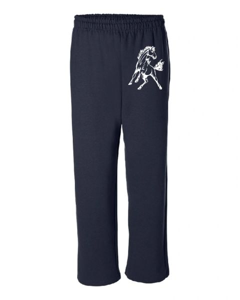 Kahler Open Bottom Sweatpants