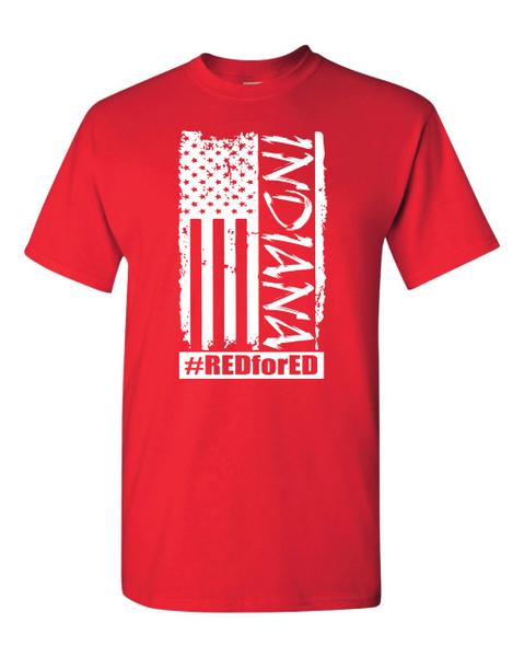 Distressed American Flag T-Shirt