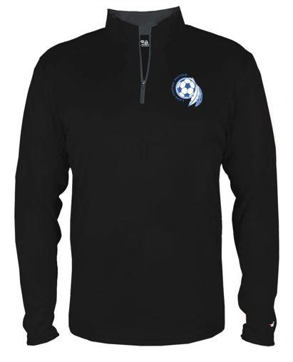 Soccer Dream Catcher Quarter Zip Pullover