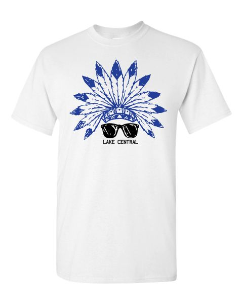 Lake Central Indian Glasses T-Shirt