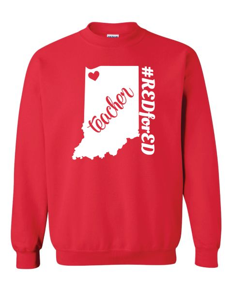 NWI Teacher Crewneck Sweatshirt