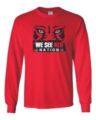 We See Red Nation Long Sleeves