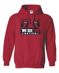 We See Red Nation Hoodie