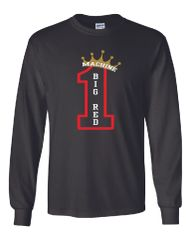 #1 Big Red Machine Long Sleeves