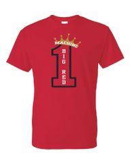 #1 Big Red Machine DryBlend T-Shirt